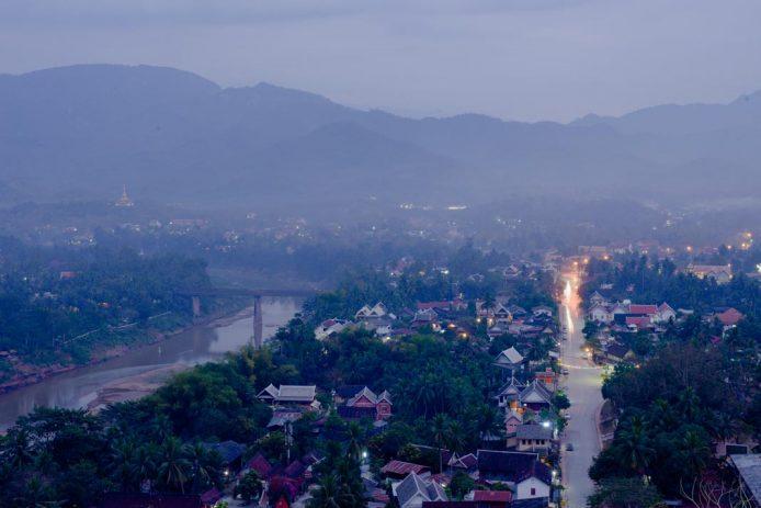 Vistas desde Mount Phou Si Luang Prabang