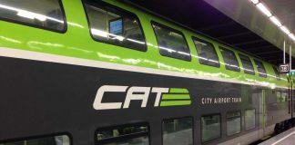 Ir en tren desde el aeropuerto de Viena al centro