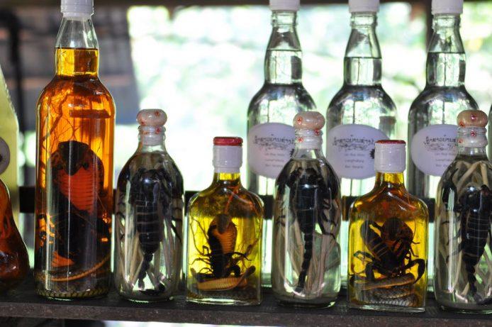 Aldea del whisky Pak Ou