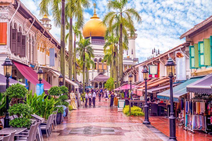 Kampong Glam, una alternativa interesante donde alojarse en Singapur