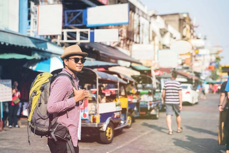Khao San/ Banglamphu Area, alojamiento barato en Bangkok