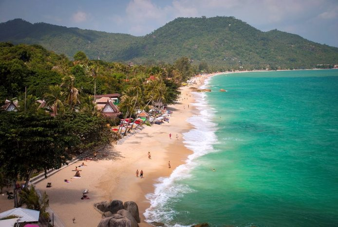 La playa de Lamai