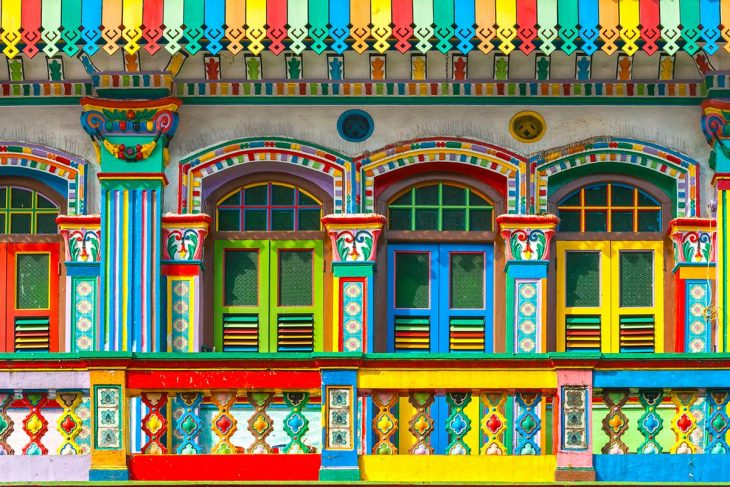 Little India, alojamiento barato en Singapur