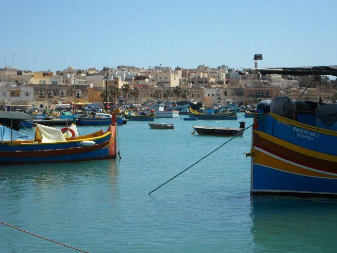 Visitar Marsalokk en Malta
