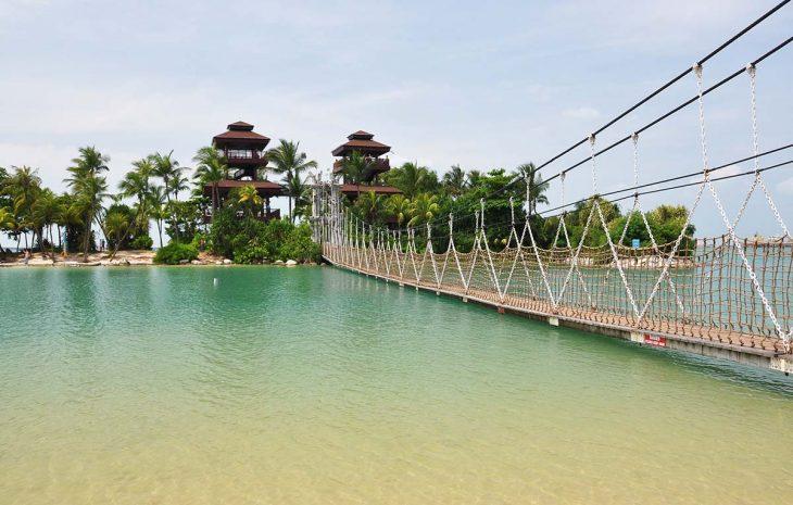 Sentosa Island, para hospedarse en Singapur en un resort de lujo
