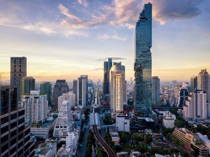 Silom, una zona de negocios más tranquila y muy céntrica