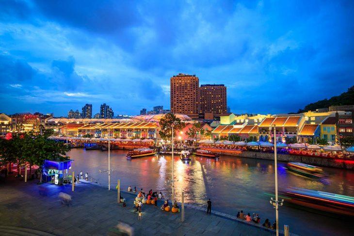 Marina Bay, es la zona más recomendable para hospedarse en Singapur.