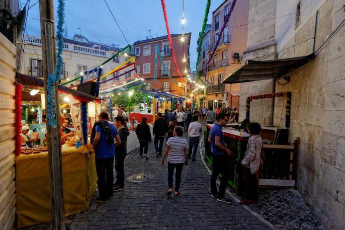 De noche en Lisboa