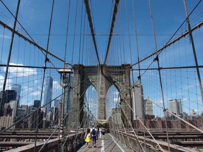 Visitar el puente de Brooklyn en Nueva York