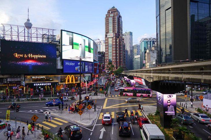 Bukit Bintang, mi zona favorita donde dormir en Kuala Lumpur