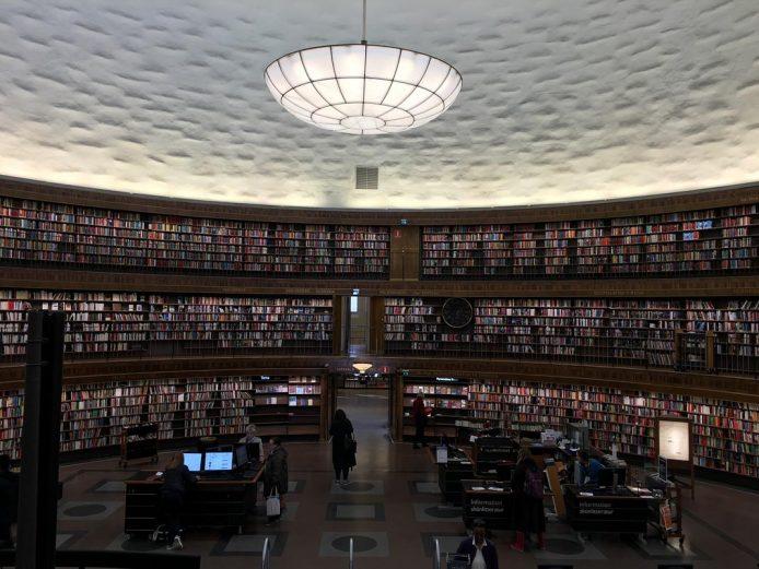 Visitar la Biblioteca de Estocolmo