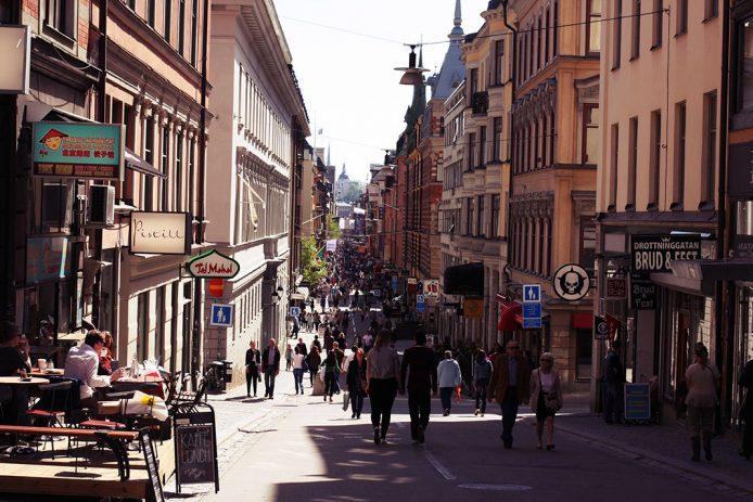 De compras por Estocolmo