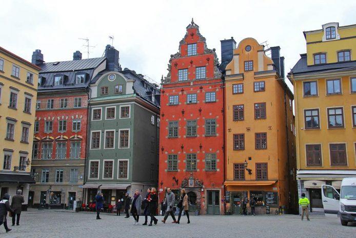 Pasear por el Gamla Stan en Estocolmo