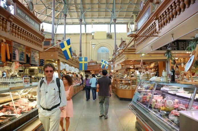 Paséate por el mercado Saluhall de Estocolmo