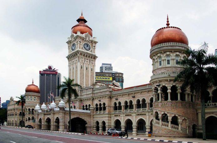 Visitar el Sultán Abdul Samad para hacer en Kuala Lumpur