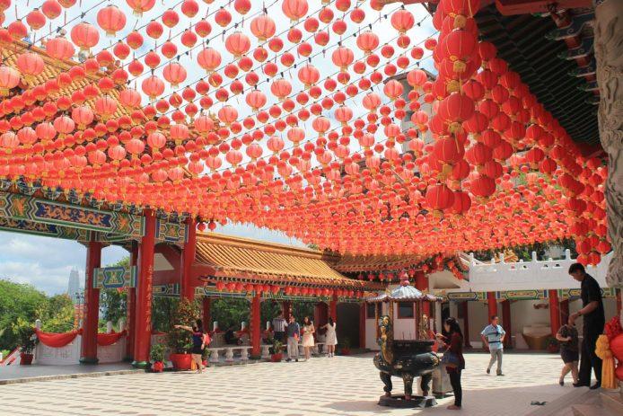 Visitar el Thean Hou en Kuala Lumpur