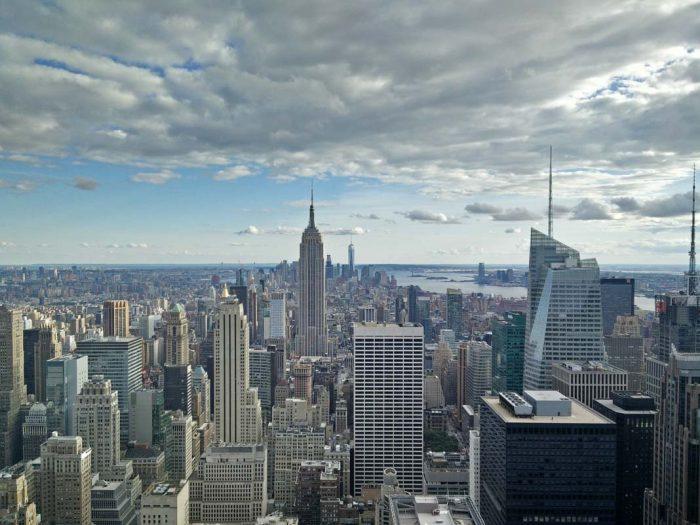Top of the Rock, admirar desde las alturas los rascacielos de Nueva York
