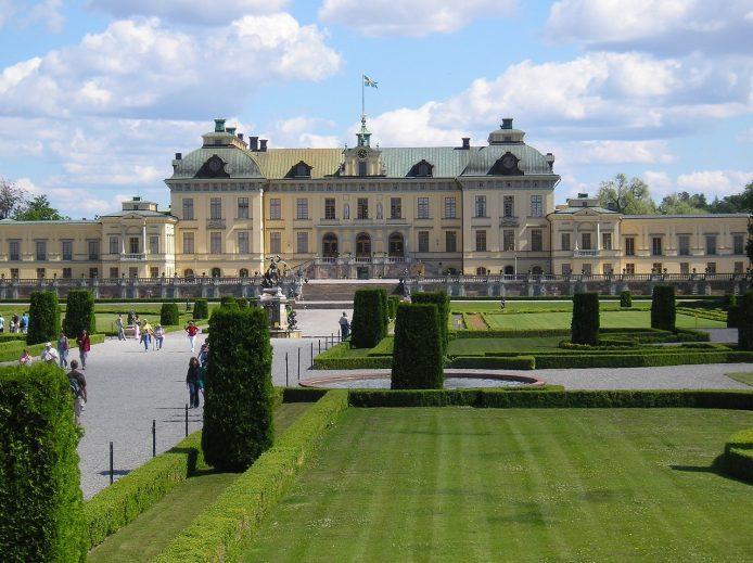Visitar el palacio Drottningholm en Estocolmo