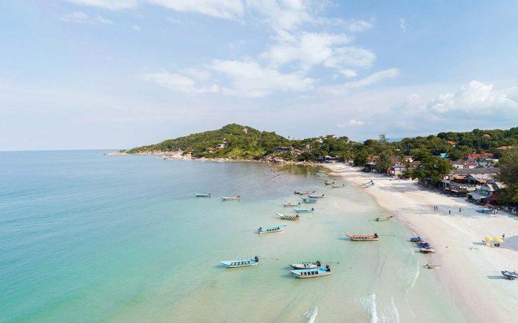 Las mejores zonas dónde alojarse en Koh Phangan