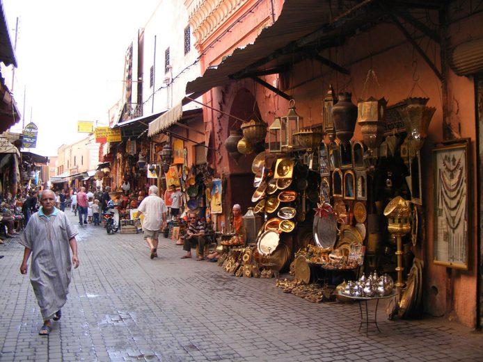 Compras artesanales en Marrakesh