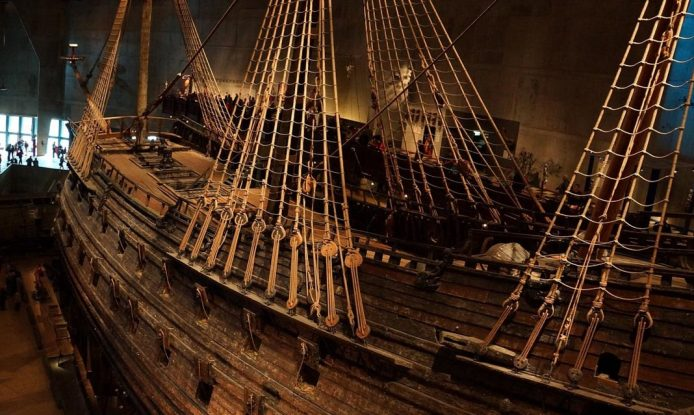 Visitar el buque del Museo Vasa en Estocolmo