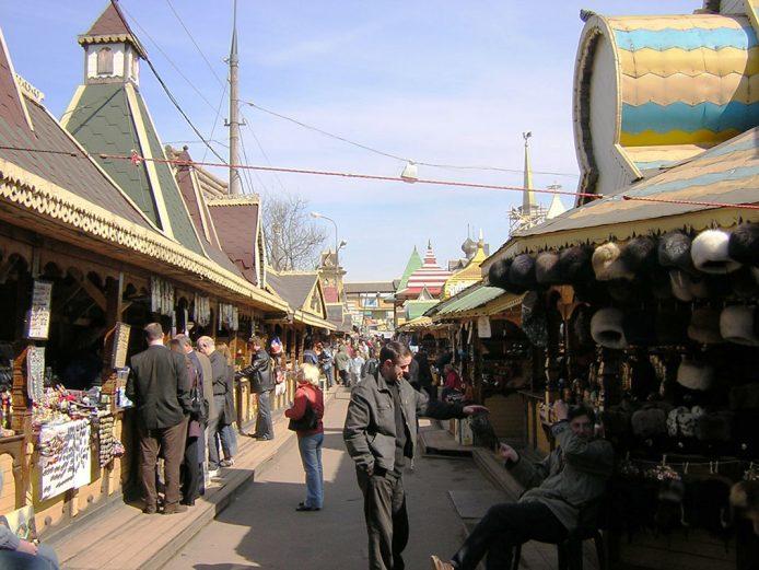 Mercado de pulgas de Izmailovsky