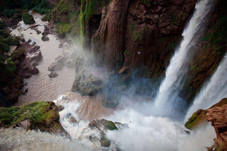 Unas cascadas de más de 100 metros de altura en el curso de río Ouzoud