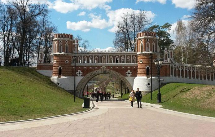 Finca Tsaritsyno en Moscú