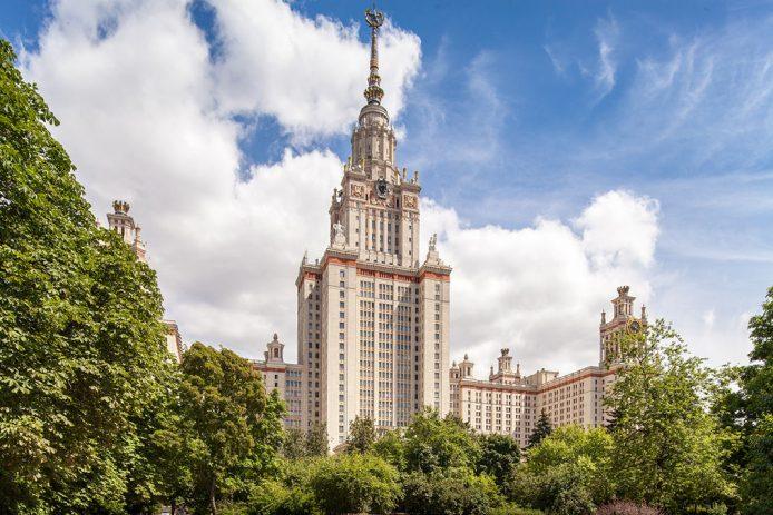 Visitar en tercer dia en Moscú la Universidad Estatal