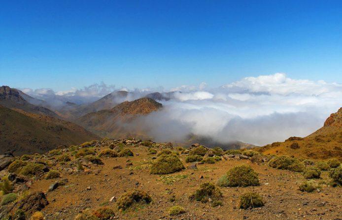 El Atlas: una cordillera montañosa como antesala del desierto