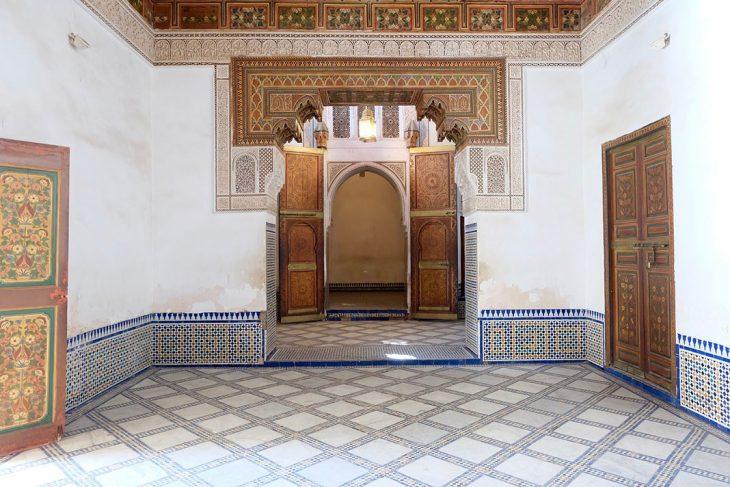 Visitar el Palacio Bahia en Marrakesh