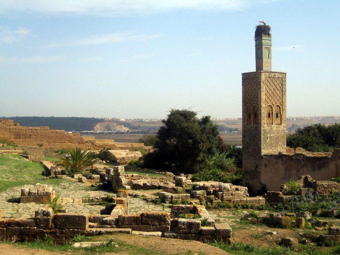 Visitar los restos arqueológicos de la necrópolis de Chellah a Rabat