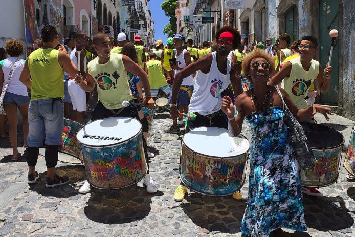 Bailes folklóricos en Salvador de Bahia