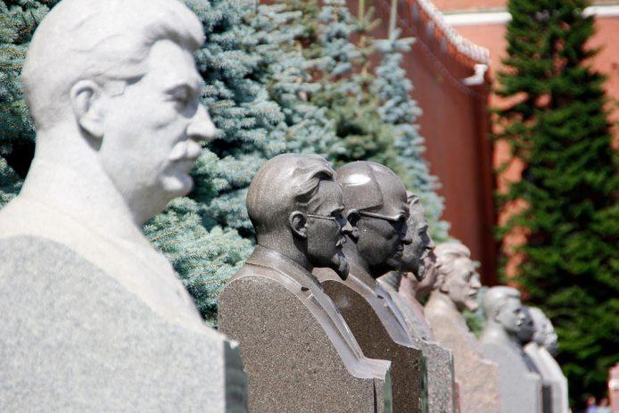 Segundo dia en Moscú. Parque de las estatuas