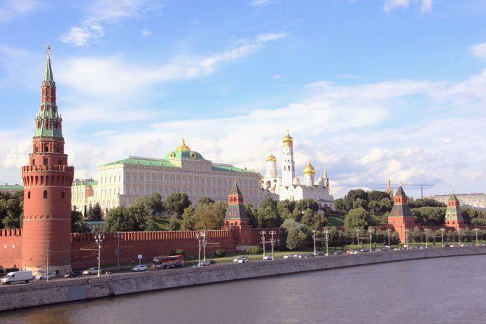 Conoce el kremlin de Moscú