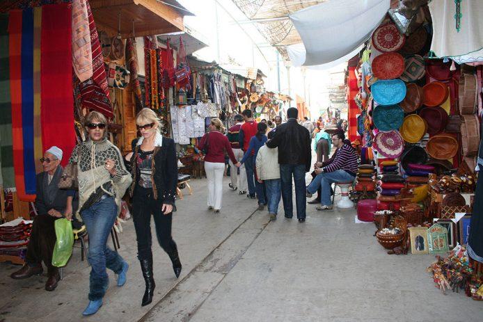 Pasear por la medina vieja de Rabat