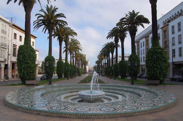 Avenida Mohammed V de Rabat