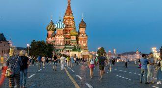 Conoce la Catedral San Basilio en Moscú