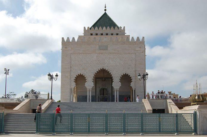 Mausoleo de Mohammed V en Rabat