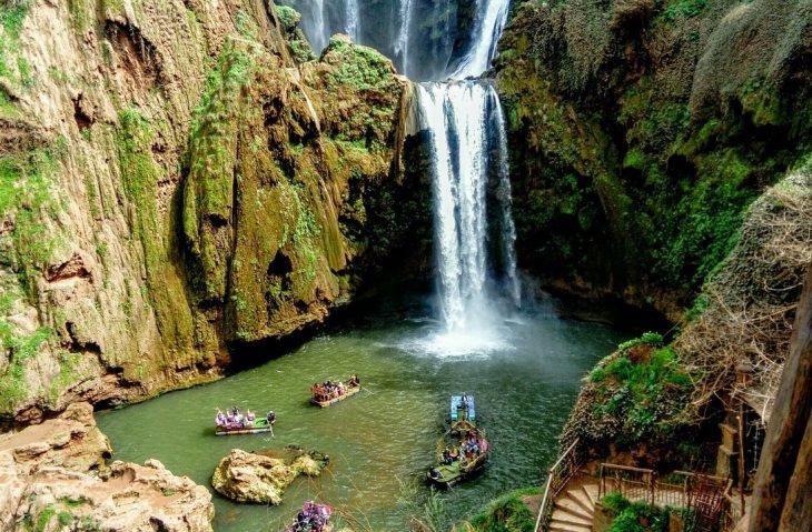 Excursión alrededores Marrakesh, las cascadas de Ouzoud
