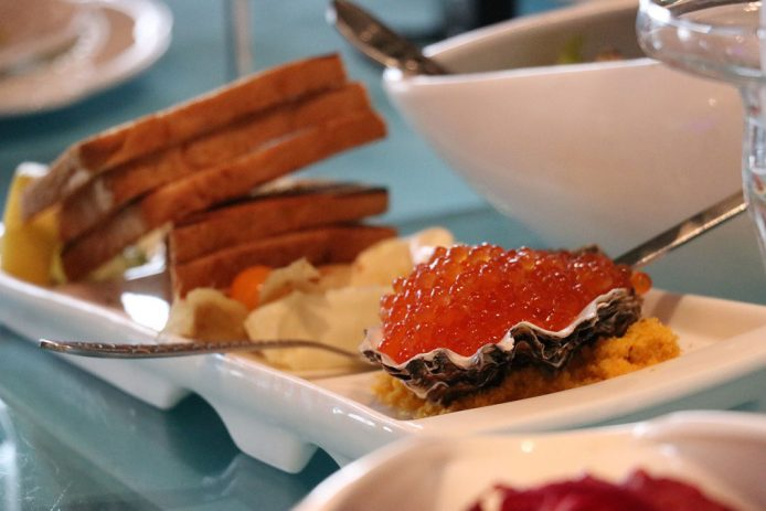 Caviar Rojo en Moscú