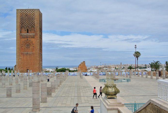 Visitar la Torre Hassan en Rabat
