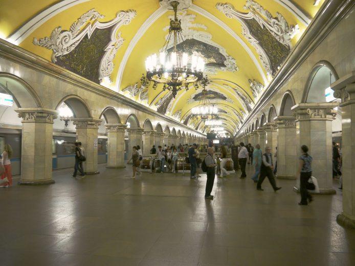 Moverse con el metro en Moscú