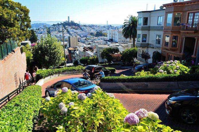 La Lombard Street en San Francisco
