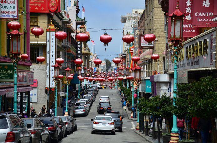 Visita el barrio de Chinatown en San Francisco