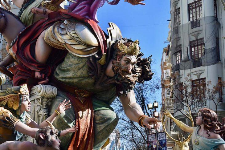 Las Fallas, la gran fiesta valenciana