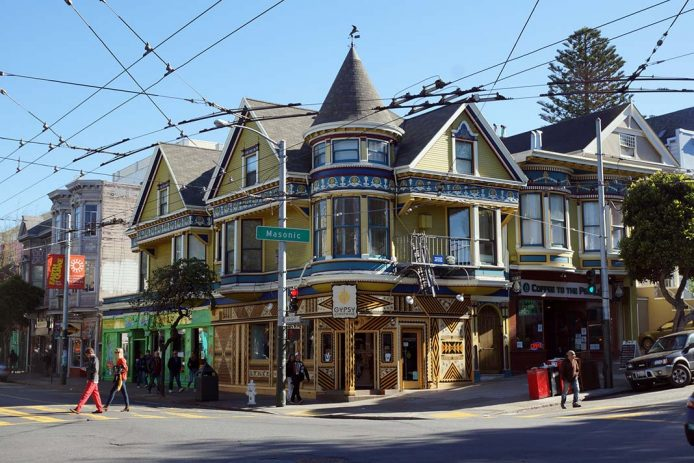 Haight Ashbury el barrio hippie de San Francisco