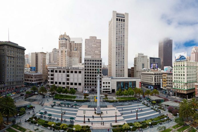 Union Square, la mayor zona comercial de San Francisco