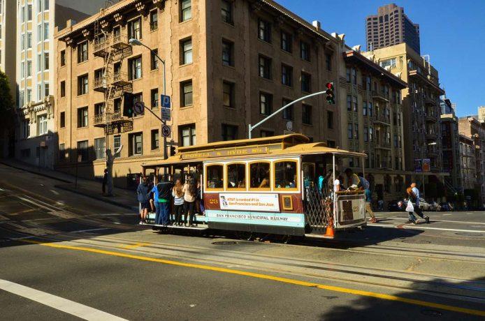 Los tranvías de San Francisco