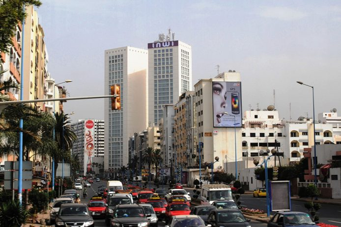 Las Torres Gemelas de Casablanca